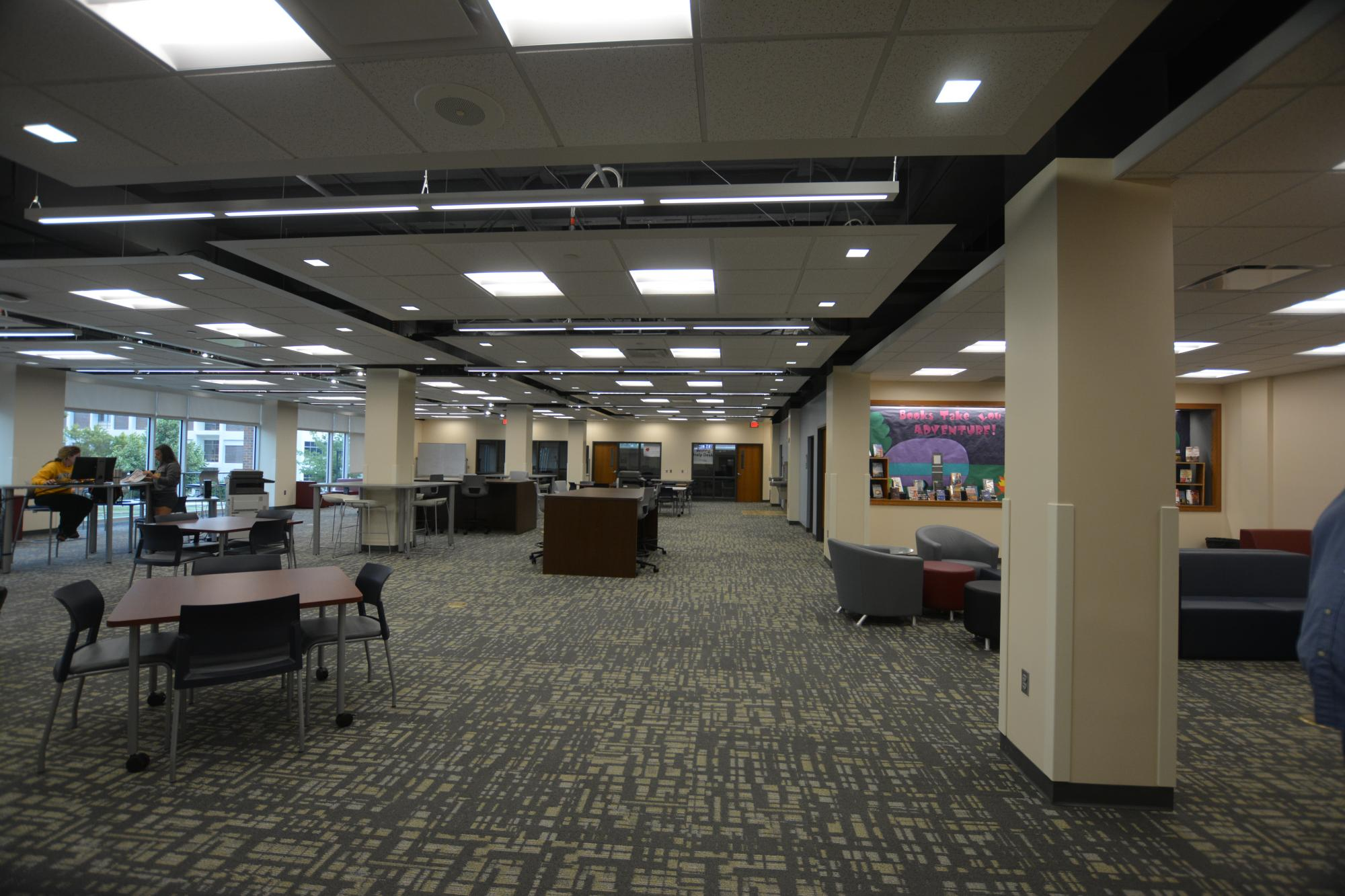 Wayne State College Conn Library Beckenhauer